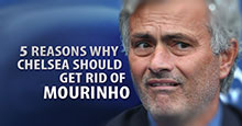 Five Reasons Why Chelsea Should Get Rid of Mourinho