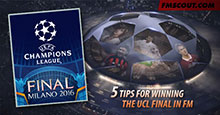 Five tips for winning the Champions League final in Football Manager