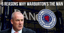 6 Reasons why Mark Warburton can be the Perfect Catalyst for Rangers