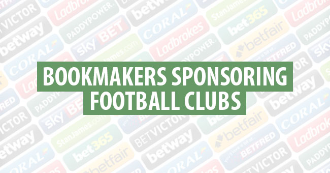 Football Views - A Look At Bookmakers Sponsoring Football Clubs