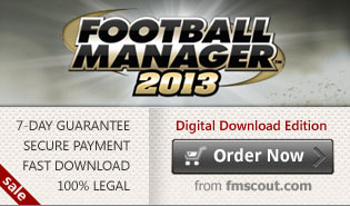 Download FM13 for £19.95