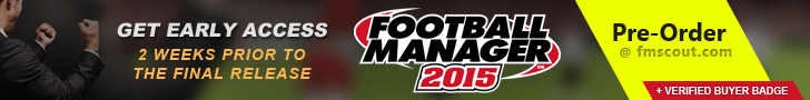 Pre-Order Football Manager 2015