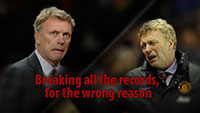 David Moyes - Breaking all the records, for the wrong reason.