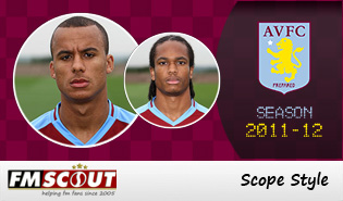Aston Villa 11/12 Scope Facepack