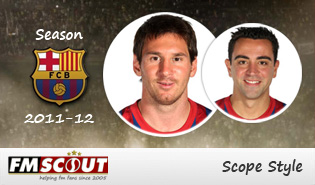 Barcelona 11/12 - Scope Facepack