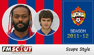 CSKA Moscow 11/12 Scope Facepack