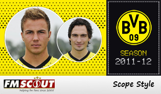 Dortmund 11/12 Scope Facepack