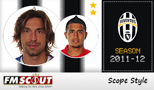 Juventus 11/12 Scope Facepack