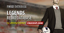 Legends Database for FM12