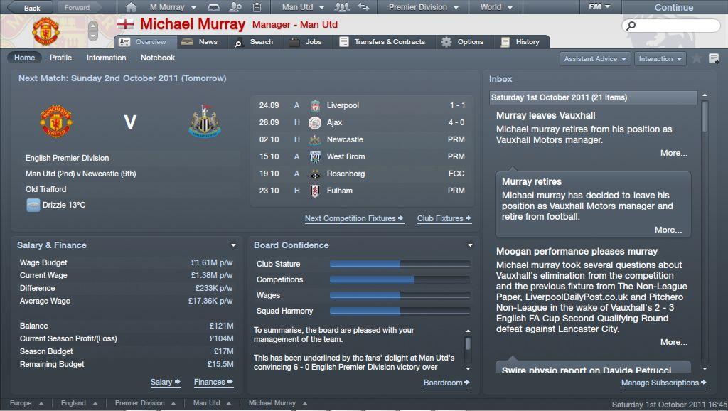 manager netbook skin 2011 football