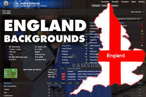 FM 2013 Misc Graphics - England Backgrounds for players