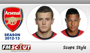 Arsenal 12/13 - Scope Facepack