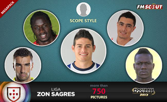 Liga Zon Sagres 12/13 Scope Faces Megapack