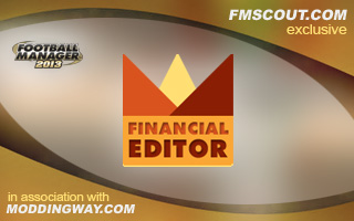 FM13 Real-Time Financial Editor