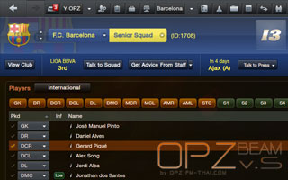 OPZ Beam skin for FM13