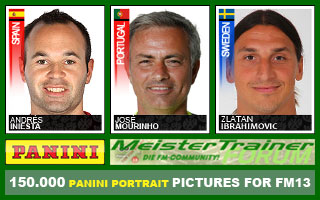 Panini Faces Megapack for FM13 (over 160.000 faces!)