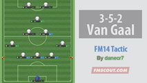 3-5-2 Van Gaal football by Danecr7