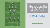 John's 4-2-3-1 for Newcastle