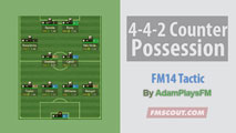 4-4-2 Counter Posession