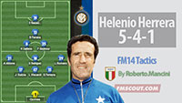 5-4-1 of Helenio Herrera for FM 14