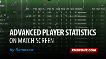 Advanced Player Stats mod for FM14