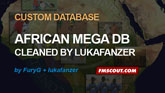"FuryG African Mega DB ""cleaned"" by lukafanzer"