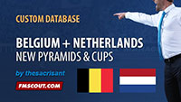 Belgium and Netherlands Database for FM14