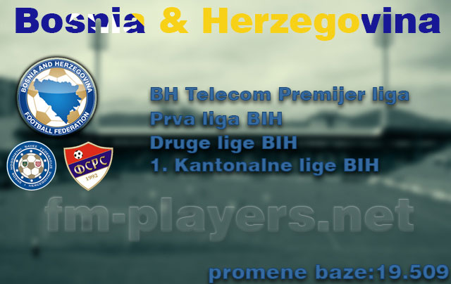 FM 2014 New Leagues - Bosnia and Herzegovina level 4 for FM14