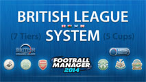 British League System: 7 Tiers (Including Logos)