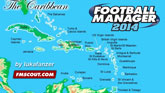 Caribbean database for FM14 by lukafanzer