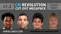 CM Revolution Cut-Out Megapack v1.3 (18,870 faces)