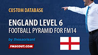England Level 6 for FM14