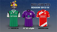 Belgian Jupiler Pro League kits 2013/14