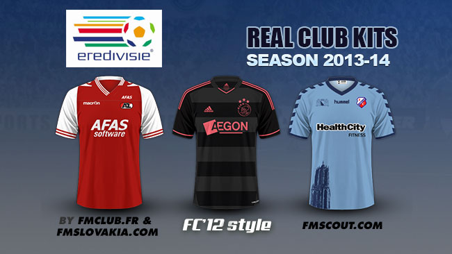 FM 2014 Club Kits - Dutch Eredivisie kits 2013/14