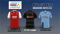 Dutch Eredivisie kits 2013/14