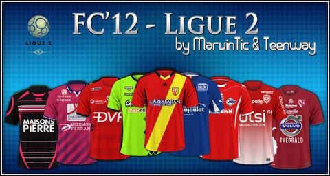 French Ligue 2 Kits 2013 14 Fm Scout