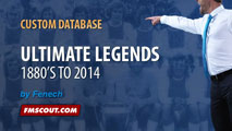 FM14 Ultimate Legends 1880's to 2014