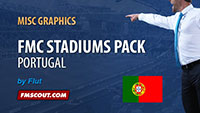 FMC Portuguese Stadiums for FM14