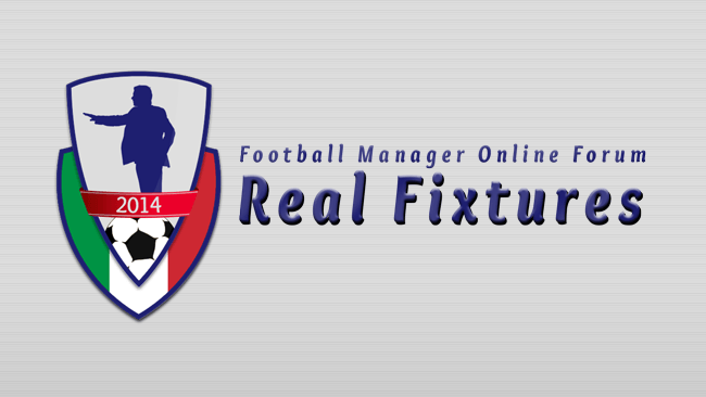 FM 2014 Data Updates - FMonline Forum FM14 Real Fixtures & Results