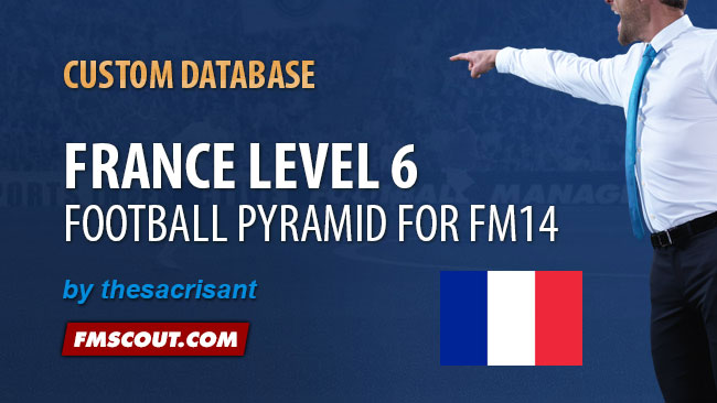 FM 2014 New Leagues - France Level 6 for FM14