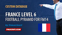 France Level 6 for FM14