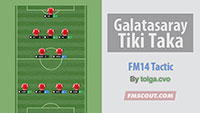 Galatasaray Tiki Taka for FM14