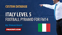 Italy Level 5 for FM14