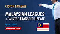 Malaysian Leagues FM14 + Worldwide Transfer