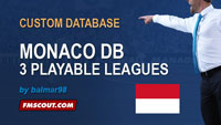 Monaco database for FM14