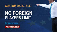 No foreign players limit and work permit eliminated