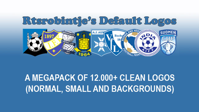 FM 2014 Logopacks - Rtsrobintje's Default Logos - Final Update has arrived !