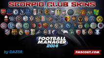 Scorpio Club skins for FM14
