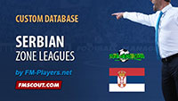 Serbian Zone Leagues (by FM-Players)