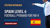 Spain Level 6 for FM14